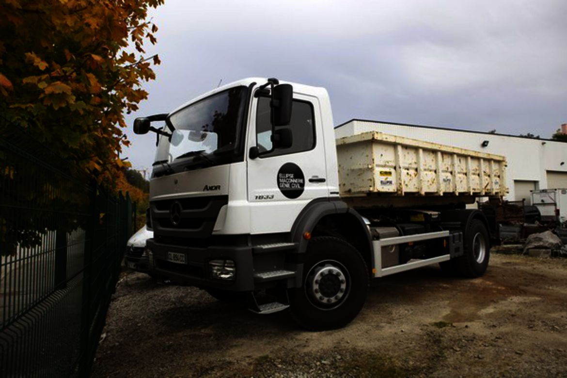 Camion benne 19 T
